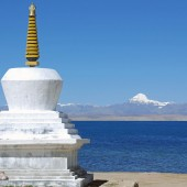 20 Trugo Gompa Chorten With Lake Manasarovar And Mount Kailash1 170x170 Mount Kailash Mansarovar Photos