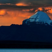 MtKailashNight 170x170 Mount Kailash Mansarovar Photos